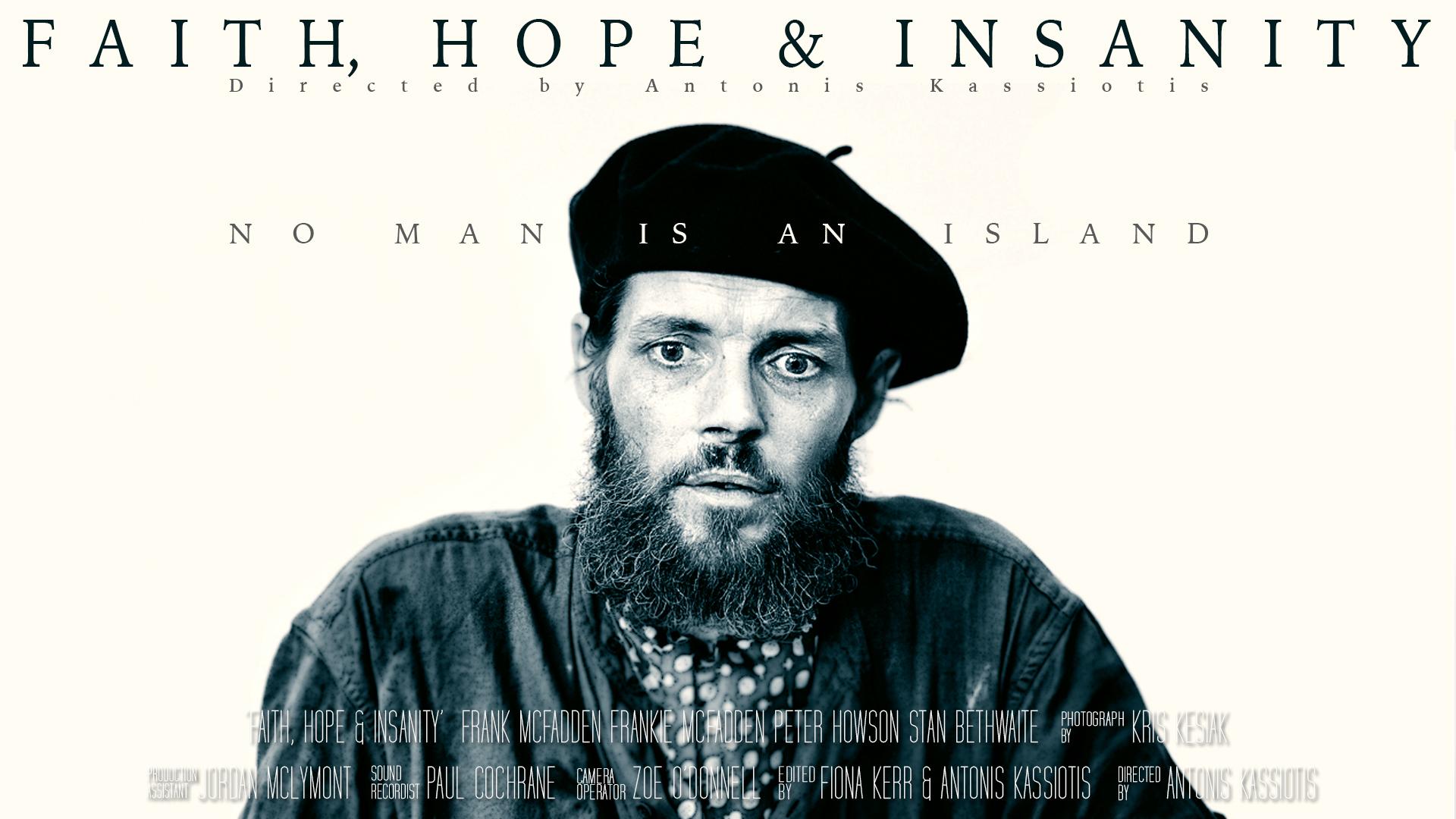 Frank McFadden - Faith, Hope & Insanity